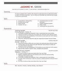 27495 pharmacy resume exles sles livecareer