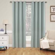 buy blue blackout curtains from bed bath beyond