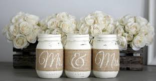 Engagement Party GiftRustic Wedding Table CenterpiecesRustic DecorBridal Shower GiftEngagement GiftMr MrsWedding Gift