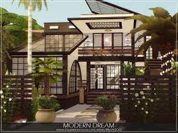 104 Modern Dream House The Sims Resource By Mychqqq Sims 4 Downloads