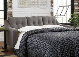 Levon Sofa Charcoal Upholstery by Sleeper Sofas