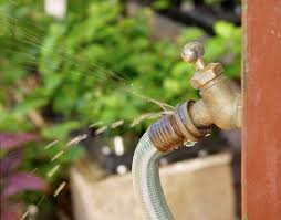 Replacing An Outdoor Faucet Washer by How To Fix A Leaking Garden Hose Networx