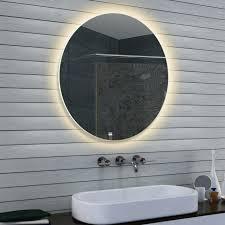design rund led beleuchtung neutral weiß licht wand