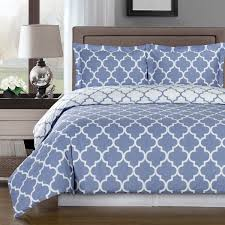 Bed Cover Sets by Amazon Com Reversible Meridian Duvet Cover Set Elegant And