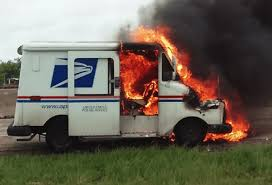 100 Postal Truck Fire USPS Meltdown Delays DACA Applications Screwing Immigrants Mass