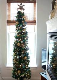 Skinny Christmas Tree Tall Decorating Ideas White Feather Canada