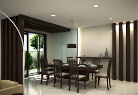 Modern Dining Room As Small Design