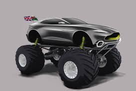 Aston Martin Unveils Monster Truck Program Called 'Project Sparta ...
