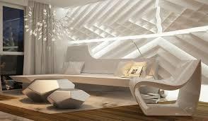 ultramoderne einrichtung in einem apartment in barcelona