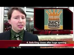 sofa king juicy burger closes after running out of food on day 1