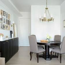 Transitional Dining Room Photo In Hong Kong With White Walls