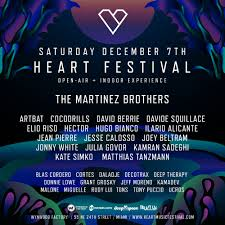 Heart Festival During Art Basel - Wynwood Factory Miami ...