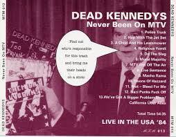 100 Police Truck Dead Kennedys The Never Been On MTV