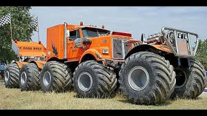 Biggest MONSTER TRUCK You Won't Believe Exist! Compilation Part.1 ...