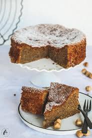 rezept für einen saftigen italienischen haselnusskuchen