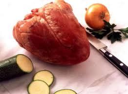 cuisiner coeur de boeuf abats blancs rouges