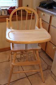 Do It Yourself Divas: DIY: Refinishing A Solid Wood Highchair 3 Colors Baby High Chair Wooden Stool Infant Do It Yourself Divas Diy Refishing A Solid Wood Highchair Koodi Grey Plan Toys Black Mocka Soho Highchairs Au 3in1 Convertible Play Table Seat How To Clean 11 Steps With Pictures Wikihow Hay About A Aac 22 Wooden Fourleg Frame Oak Matt Lacquered White Chairs For Montessori Home Learn What Kind Of High