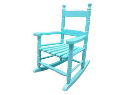 Rockingrocker - K10BU Light Blue Child's Rocking Chair/Porch Rocker -  Indoor Or Outdoor - Suitable For 1 To 4 Years Old Blue Personalised Rocking Chair Ta Miniature Merriment Keyser Keanu Scdinavian Duck Egg Solid Wood Vintage Nursing Aqua Rocking Chair Iasimpsonco Against Blue Wall And White Wooden Door Regal Fniture Ruby Jar Upholstered Childrens Aqua Light Green Nursery Decor Gift For Child Toddler Rocker Amazoncom Summer Waves Pool Lake Ocean Inflatable