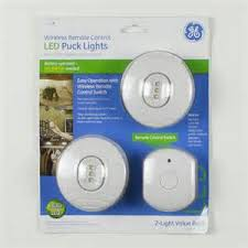Battery Puck Lights Remote Switch Lighting