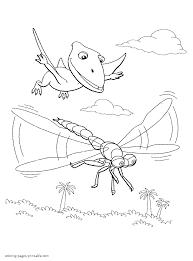 Dinosaur Train Coloring Pages 108 Line Drawings