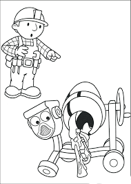 Bob Builder The Coloring Pages Free Printables Printable Pdf Full Size