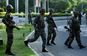 siege army indian city siege after clashes guru kill 36