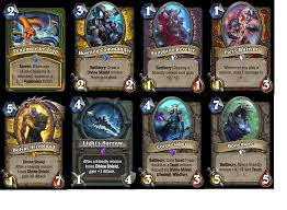 Hearthstone Taunt Deck 2017 by Knights Of The Frozen Throne Coming August 10th Hearthstone
