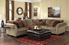 Ashley Furniture Living Room Set For 999 by Bob S Living Room Masoli Mocha Sectional Living Room Set Signature