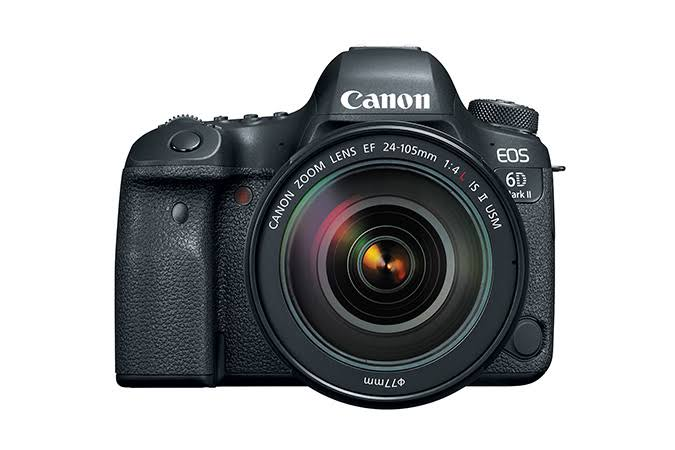 Canon EOS 6D Mark II DSLR - With 24-105mm Lens