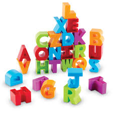 Buy Letter Blocks By Learning Resources LER7718 Primary ICT
