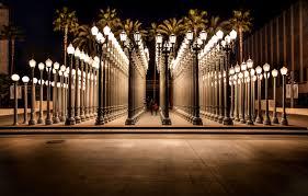 Urban Light Chris Burden