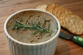 wonderful chicken liver pate with bacon makes about 4 small
