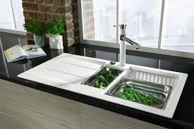küchenspülen spülbecken aus keramik oder edelstahl