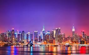 Title New York City Skyline At Night 4k Hd Desktop Wallpaper For Dimension 1920 X 1200 File Type JPG JPEG