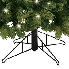 Ge Artificial Christmas Trees by Ge 7 5 Ft Pre Lit Led Energy Smart Just Cut Colorado Spruce
