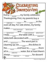 Halloween Mad Libs For 3rd Grade by Thanksgiving Mad Libs Woo Jr Kids Activities