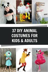 DIY Animal Costumes For Kids And Adults