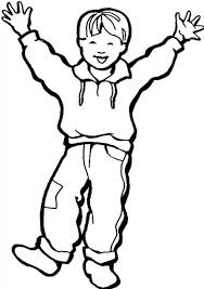 Boy Coloring Page Free Printable Pages For Kids Picture