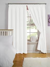 Thermal Lined Curtains Australia by Simply Style Black Thermal Backed Readymade Curtain Pair 66x72in