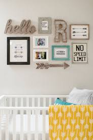 Pottery Barn Baby Wall Decor by Best 25 Nursery Wall Collage Ideas On Pinterest Wall Collage