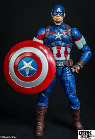 002 Marvel Legends Captain America Avengers Age Of Ultron Thanos Wave
