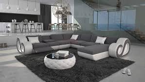grand canapé grand canapé d angle en u led nesta xl 2 299 00