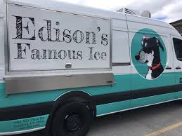 Edison's Famous Ice – CT Food Trucks Kona Ice Toronto Food Trucks Electric Mobile Trucksice Cream Trailercoffee For Sale Mobile Ice Crem Corp Dannys Truck San Diego Roaming Hunger Municipal Snow And Palmer Power And Equipment Pimp My Of Columbia Our New Goodpop Austin Sharons Home Facebook Georgia In Atlanta Ga
