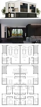 Simple Layout Of A Villa Placement by Best 25 Duplex Floor Plans Ideas On Duplex House
