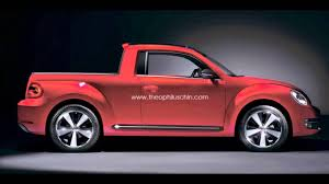 Volkswagen New Beetle Pickup Rendering - YouTube