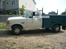 100 Ford F350 Utility Truck 1989