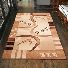 details zu teppich wohnzimmer modern muster in beige creme s 200x300 300x400 80x150