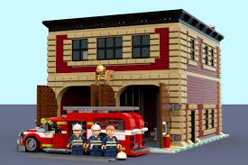 LEGO IDEAS - Product Ideas - Fire Department Of District Hot Rod Town