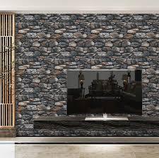 huqi 3d stereo stein tapete simulation kultur stein