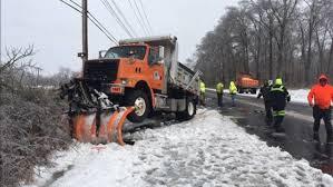 100 Truck Wrecks Videos DelDOT Plow Truck Crashes In Newark 6abccom